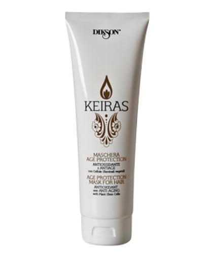 Диксон Keiras Maschera Age Protection Тонизирующая маска со стволовыми клетками 250 мл (Dikson, Уход за волосами, Keiras)