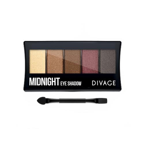 цена на Divage Палетка Теней Для Век Palettes Eye Shadow Midnight - Midnight (Divage, Тени)