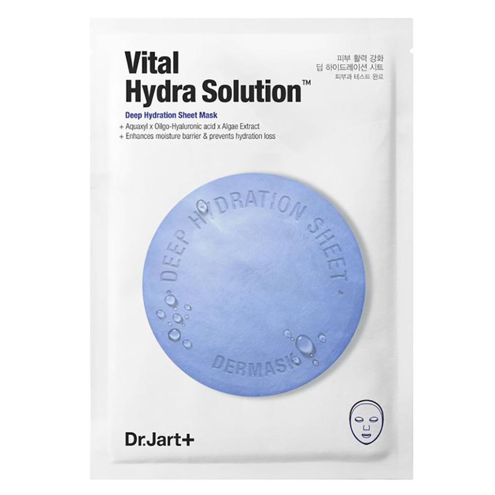 Купить Dr. Jart+ Увлажняющая маска Капсулы красоты с гиалуроновой кислотой Hydra Vital Solution, 25 г (Dr. Jart+, Dermask)
