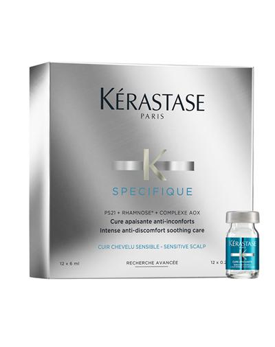 Купить Kerastase Спесифик Курс для предотвращения чувствительности кожи головы 12х6 мл (Kerastase, Specifique)