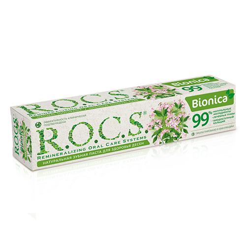 Купить R.O.C.S Зубная паста Бионика, 74 г (R.O.C.S, Для Взрослых)