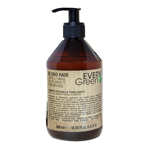 Купить Dikson Шампунь против желтизны двойной концентрации Antiyellow shampoo double concentration, 500 мл (Dikson, EveryGreen)