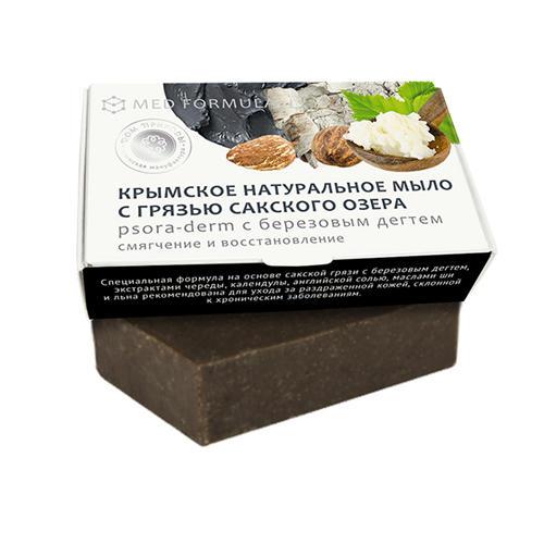 Купить Дом природы Мыло Psora-derm на основе грязи Сакского озера, 100 г (Дом природы, )