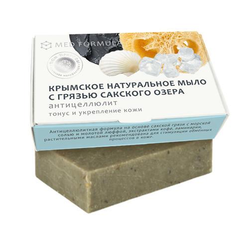 Купить Дом природы Мыло Антицеллюлит на основе грязи Сакского озера, 100 г (Дом природы, )