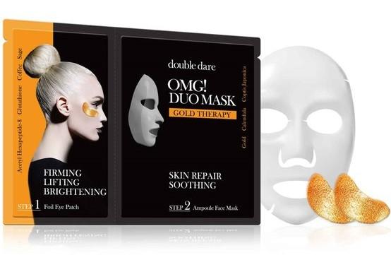 Купить Double Dare OMG Двухкомпонентный комплекс Смягчение и восстановление из маски и патчей (Double Dare OMG, DUO)