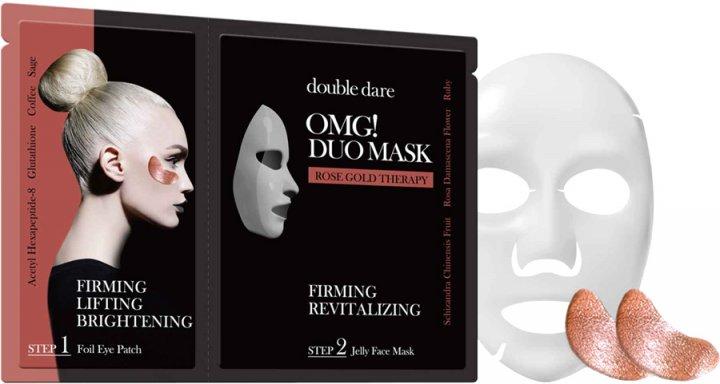 Купить Double Dare OMG Двухкомпонентный комплекс Упругость и ревитализация из маски и патчей (Double Dare OMG, DUO)