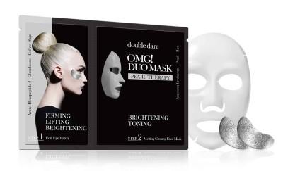 Купить Double Dare OMG Двухкомпонентный комплекс Сияние и тонизирование из маски и патчей (Double Dare OMG, DUO)