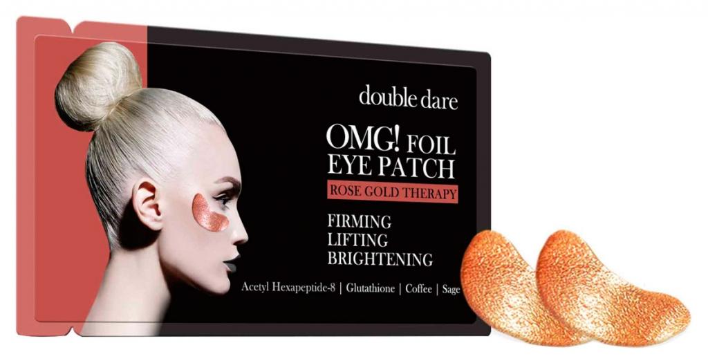 Купить Double Dare OMG Патчи для зоны вокруг глаз «Розовое золото», 6 г (Double Dare OMG, Double Dare)