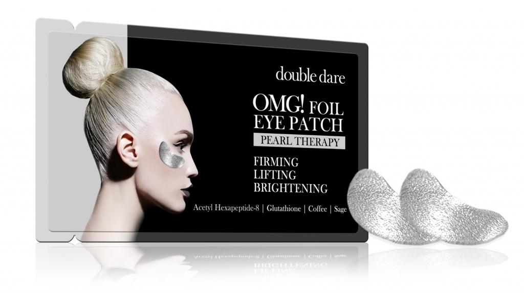 Купить Double Dare OMG Патчи для зоны вокруг глаз «Серебро», 6 г (Double Dare OMG, Double Dare)