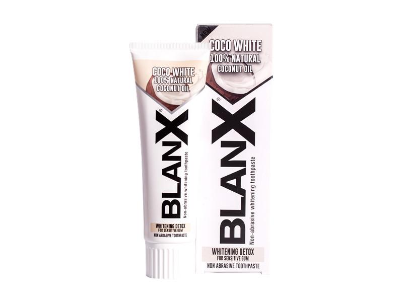 Купить Blanx Отбеливающая зубная паста для чувствительных десен с кокосовым маслом, 75 мл (Blanx, Зубные пасты Blanx)