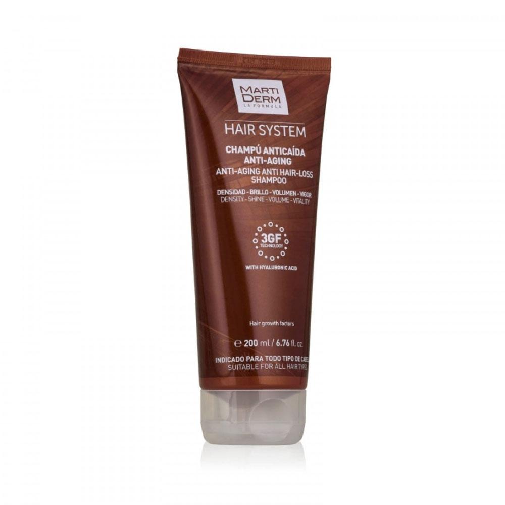 Купить Martiderm Шампунь против выпадения волос Анти-эйдж , 200 мл (Martiderm, Hair System)