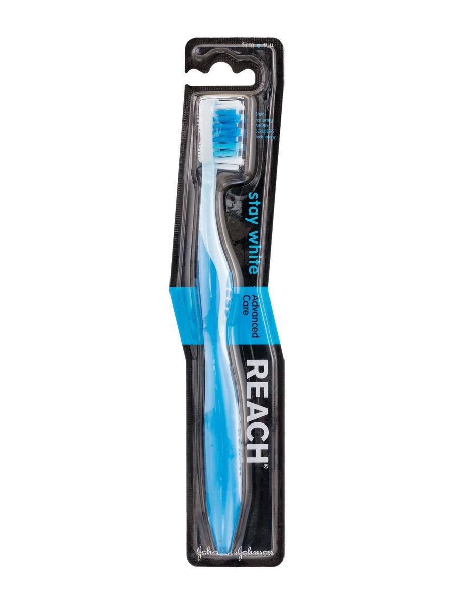 Купить Reach Зубная щетка жесткая Stay White, 1 шт. (Reach, Зубные щетки)