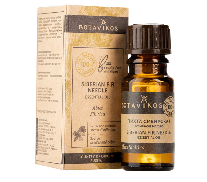 Купить Botavikos Эфирное масло 100% Пихта сибирская, 5 мл (Botavikos, Эфирные масла)