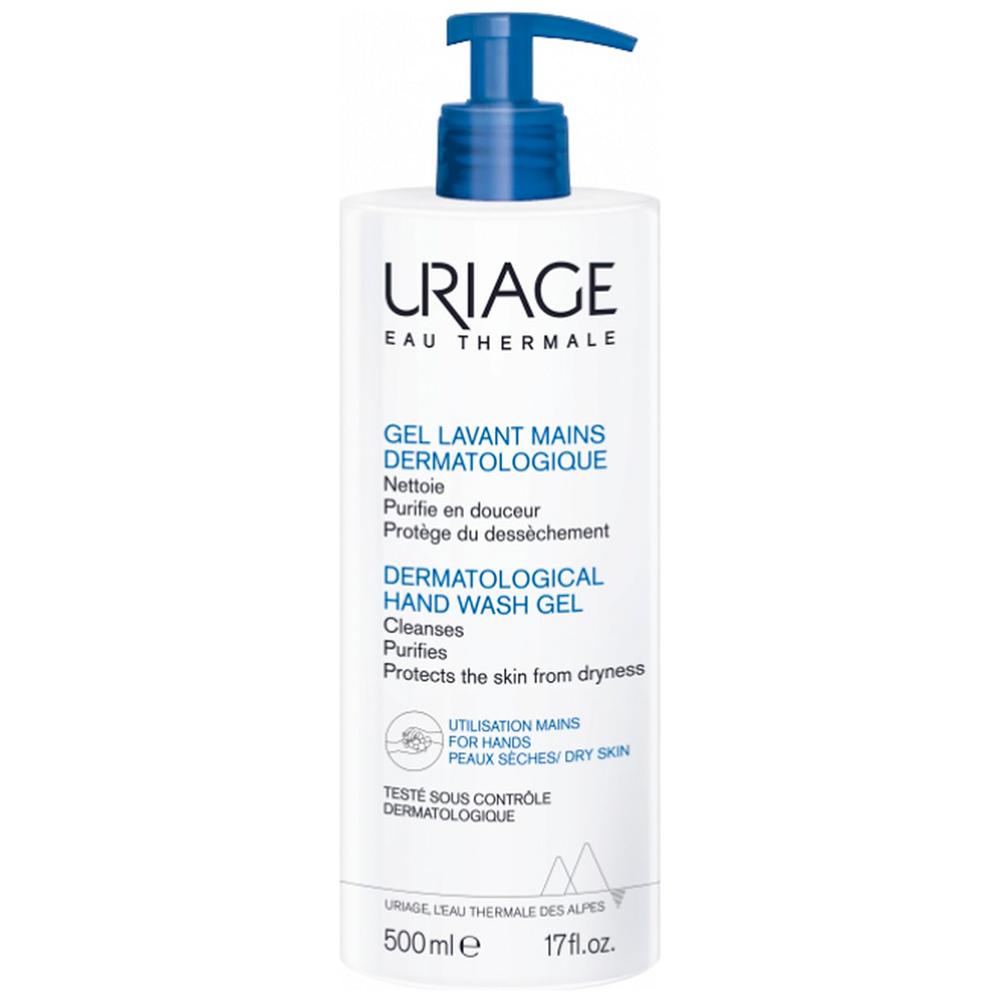 Купить Uriage Дерматологический гель для очищения рук, 500 мл (Uriage, Гигиена Uriage)
