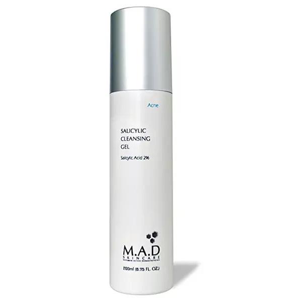 Купить M.A.D. Очищающий гель с 2% салициловой кислотой, 200 мл (M.A.D., Acne)