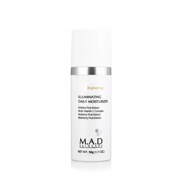 Купить M.A.D. Дневной увлажняющий крем с эффектом выравнивания тона кожи, 50 г (M.A.D., Brightening)