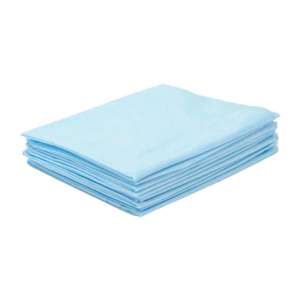 Купить Чистовье Простыня SMS комфорт голубой, 200 х 80 см, 1 х 20 шт (Чистовье, Универсальные расходные материалы)