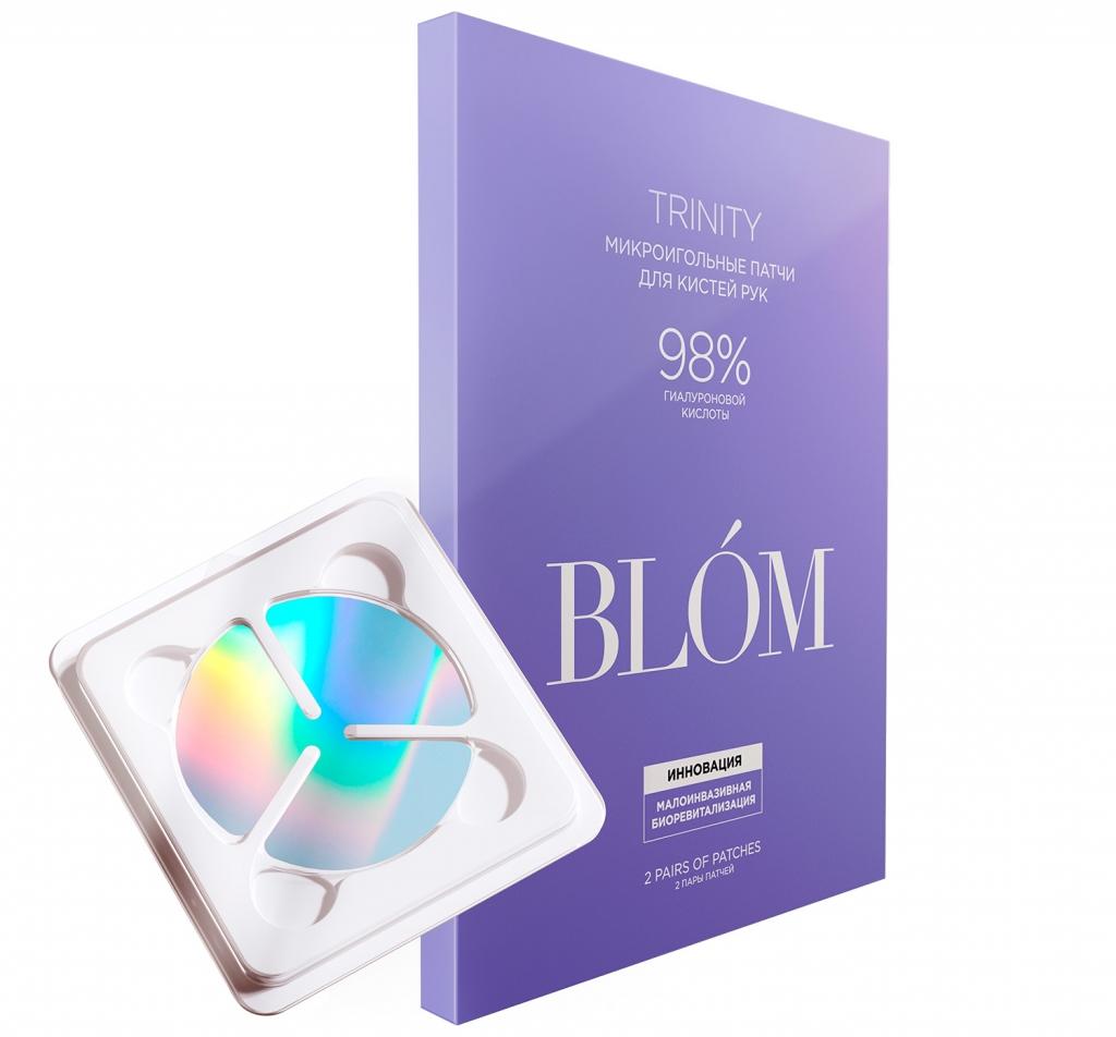 Купить Blom Патчи микроигольные для кистей рук Trinity, 2 пары (Blom, Trinity)