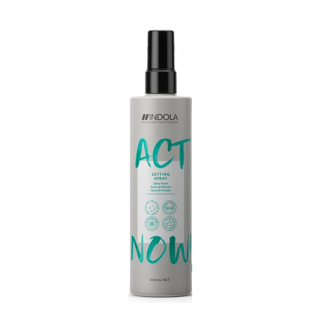 Купить Indola Моделирующий спрей Act Now Setting Spray для укладки волос, 200 мл (Indola, Стайлинг)