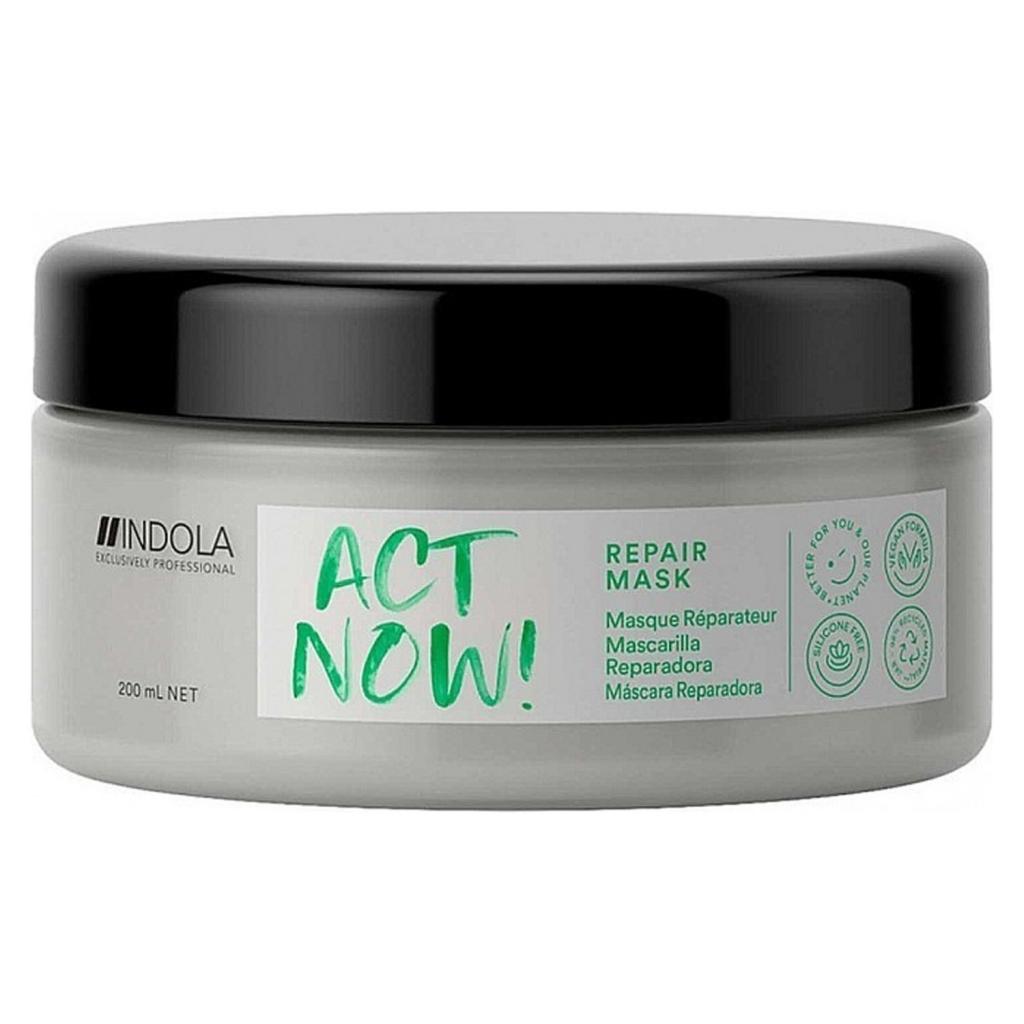 Купить Indola Маска Act Now Repair для восстановления волос, 200 мл (Indola, Repair)