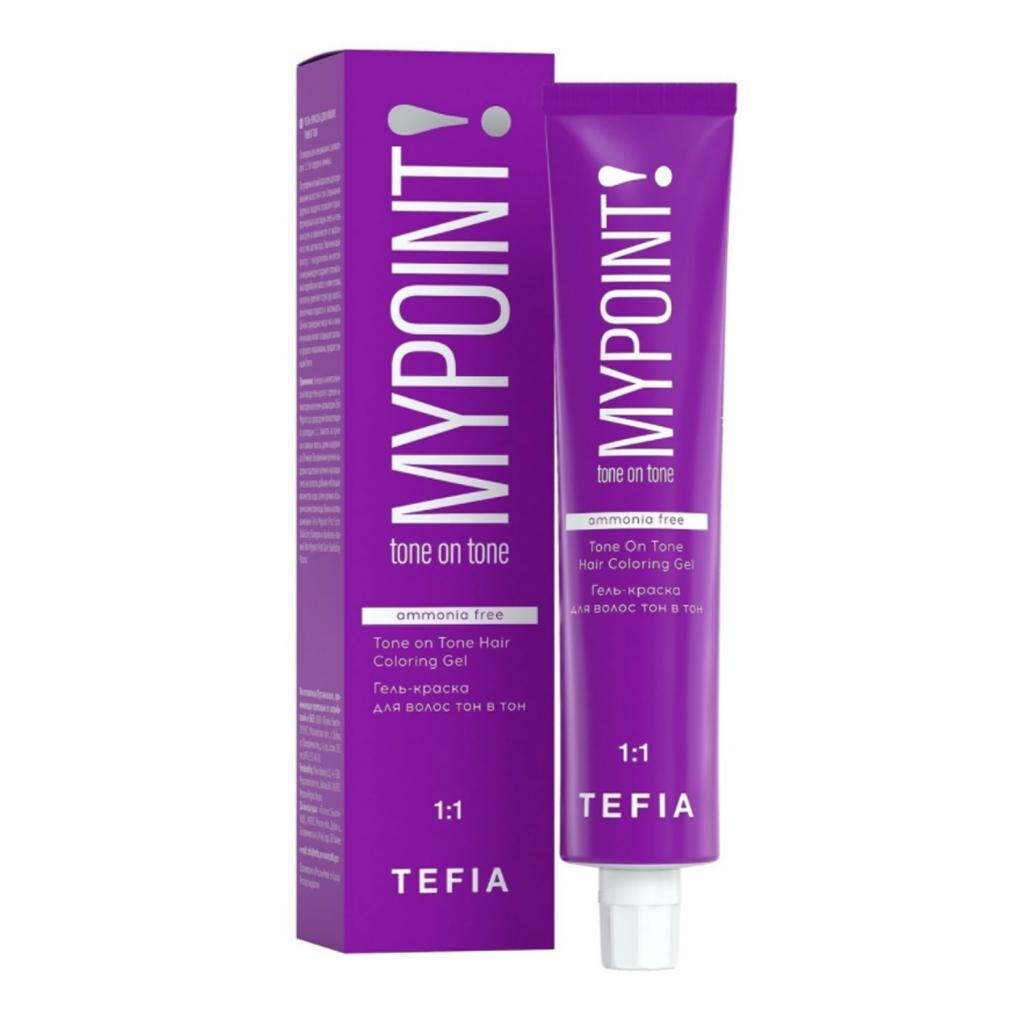 Купить Tefia Безаммиачная гель-краска для волос тон в тон, 60 мл - 10.1 Экстра светлый блондин пепельный (Tefia, MyPoint)