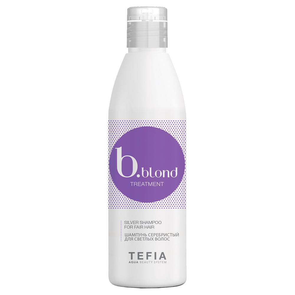 Купить Tefia Шампунь серебристый для светлых волос, 1000 мл (Tefia, B.Blond)