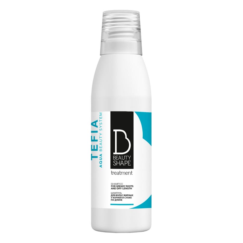 Купить Tefia Шампунь для волос, жирных у корней и сухих по длине, 250 мл (Tefia, Beauty Shape)