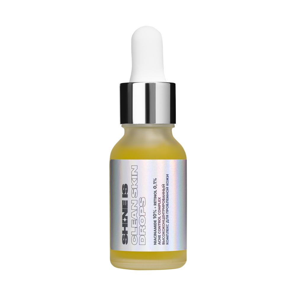 SHINEIS Высоконцентрированный комплекс для проблемной кожи Niacinamide 10% + Retinol 0,1 % Acne Control Complex, 15 мл (SHINEIS, )