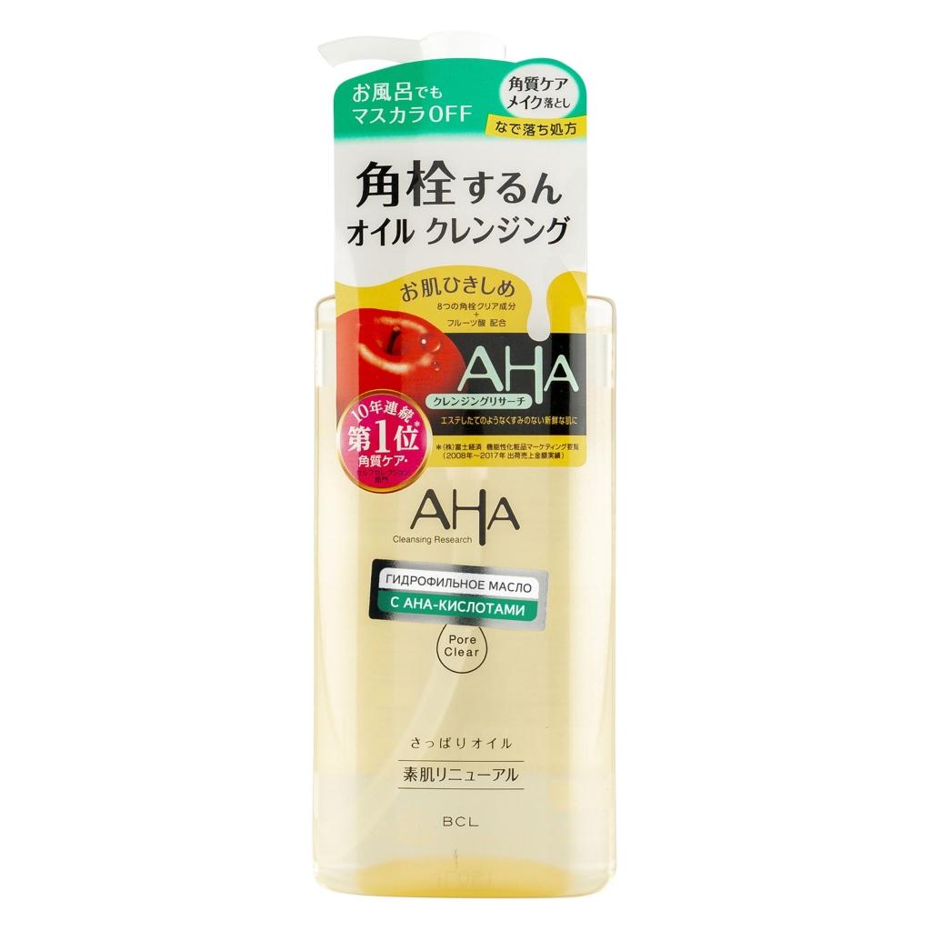 Купить Aha Гидрофильное масло для снятия макияжа с фруктовыми кислотами для нормальной и комбинированной кожи, 200 мл (Aha, Basic)