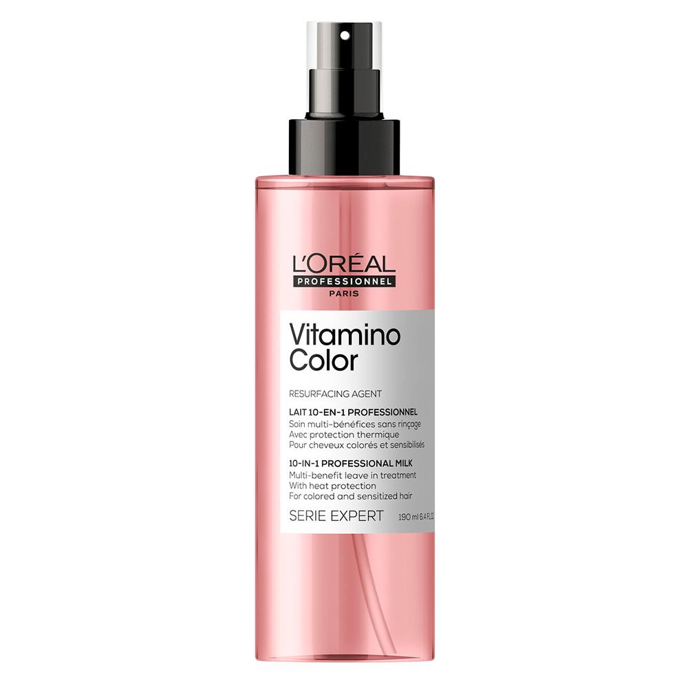 Купить L'Oreal Professionnel Термозащитный спрей Vitamino Color для окрашенных волос, 190 мл (L'Oreal Professionnel, Уход за волосами)