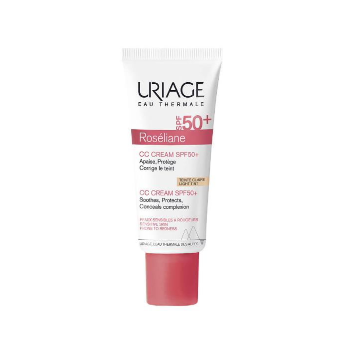 Купить Uriage Крем SPF 50+ Розельян CC натуральный бежевый тон, 40 мл (Uriage, Roseliane)