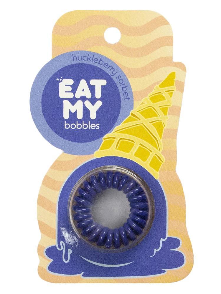 Купить Eat My Резинка для волос Черничный сорбет , 3 шт (Eat My, Для причесок)