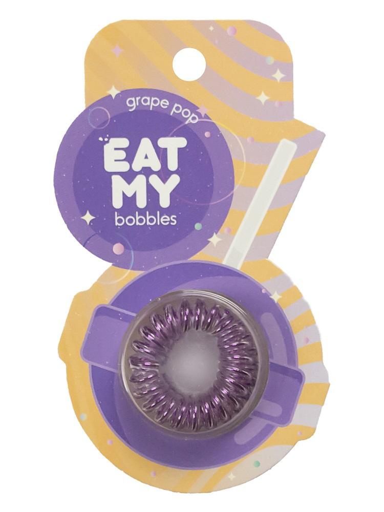 Купить Eat My Резинка для волос Виноградный леденец , 3 шт (Eat My, Для причесок)