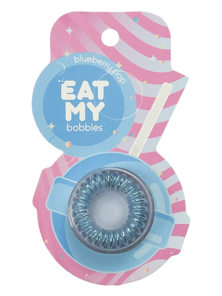 Купить Eat My Резинка для волос Голубичный леденец , 3 шт (Eat My, Для причесок)