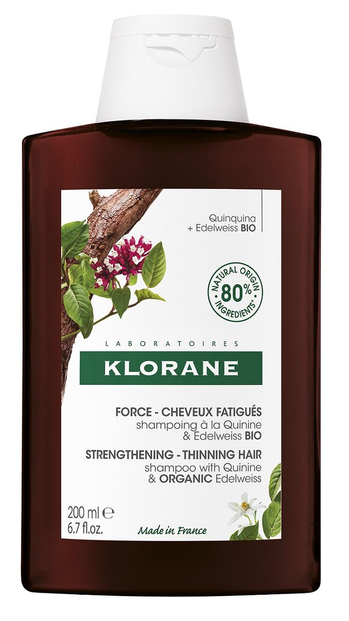 Купить Klorane Шампунь с экстрактом Хинина и органическим экстрактом Эдельвейса, 200 мл (Klorane, )