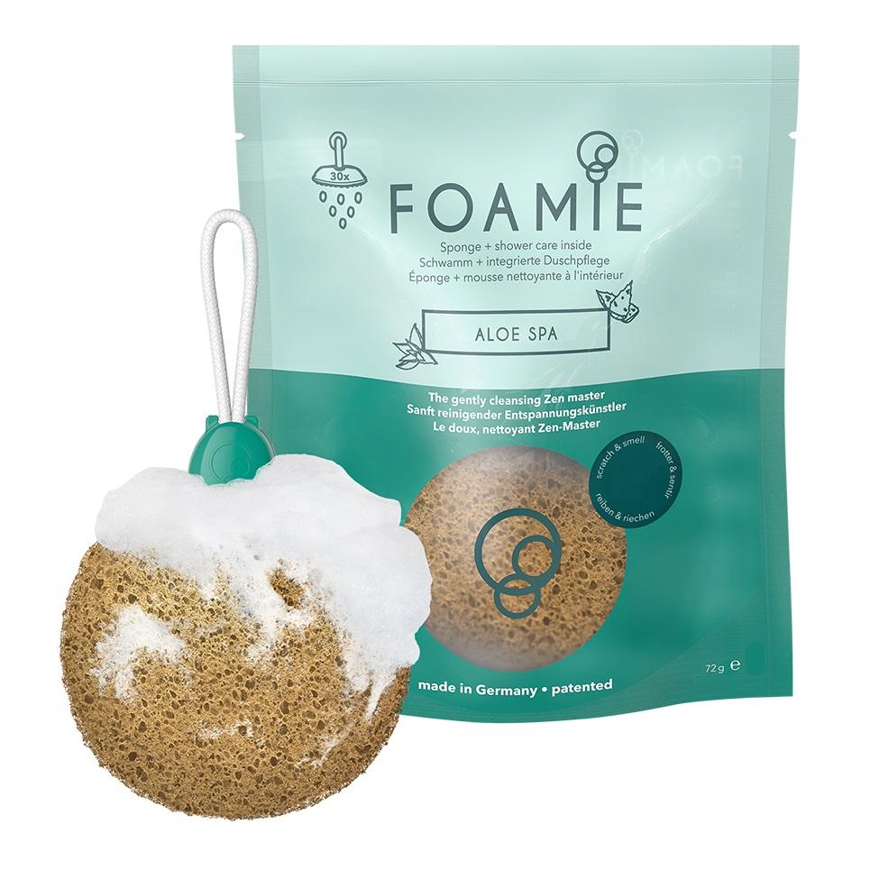 Купить Foamie Пенящаяся губка для душа Aloe Spa (Foamie, Губки)