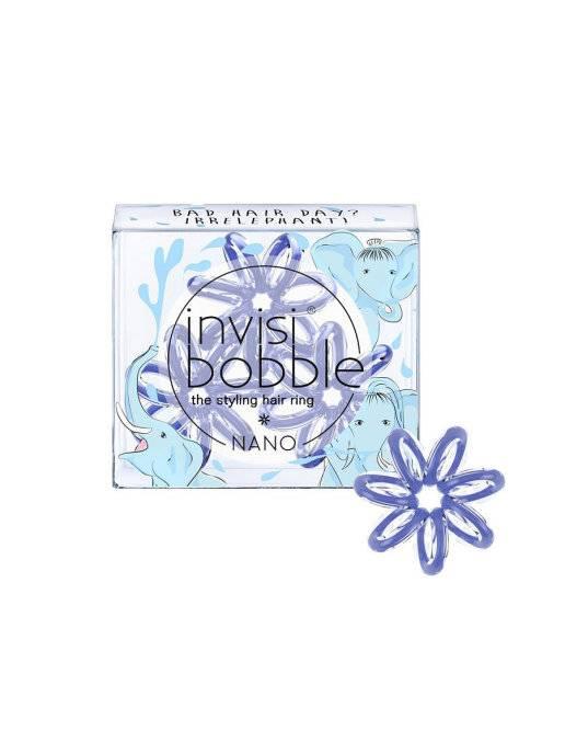 Купить Invisibobble Резинка-браслет для волос Bad Hair Day? Irrelephant!, 3 шт (Invisibobble, Nano)