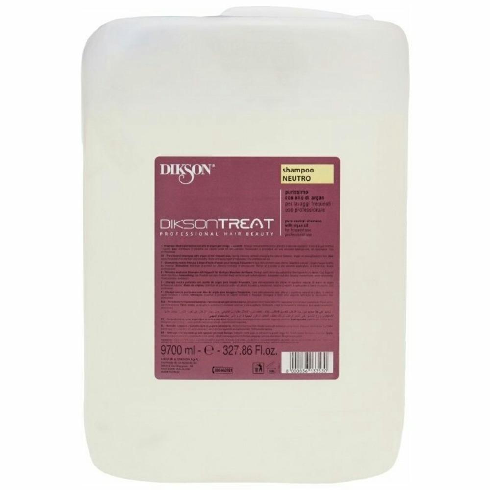 Dikson Шампунь для волос с маслом арганы Shampoo Neutro, 10000 мл (Dikson, One's Treat) dikson шампунь one's shampoo fortificante укрепляющий с гидрализованными протеинами риса 1000 мл