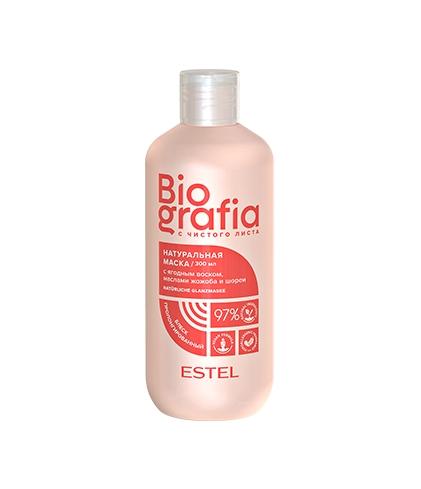 Купить Estel Professional Натуральная маска для волос Пролонгированный блеск , 300 мл (Estel Professional, Biografia)