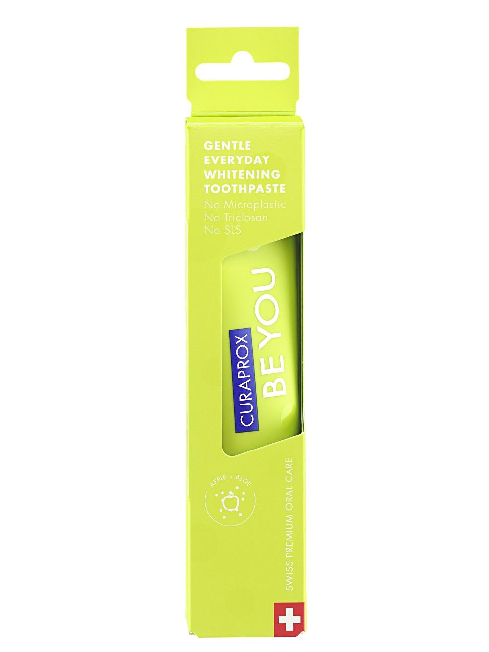 """Curaprox Осветляющая зубная паста """"Исследователь"""", 60 мл (Curaprox, Be You)"""