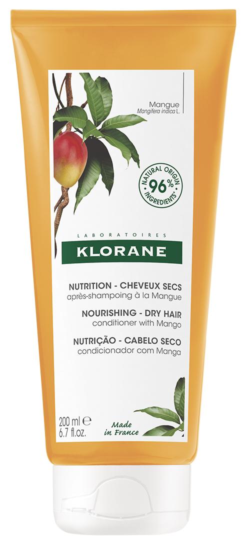 Купить Klorane Бальзам-ополаскиватель с маслом манго, 200 мл (Klorane, Dry Hair)