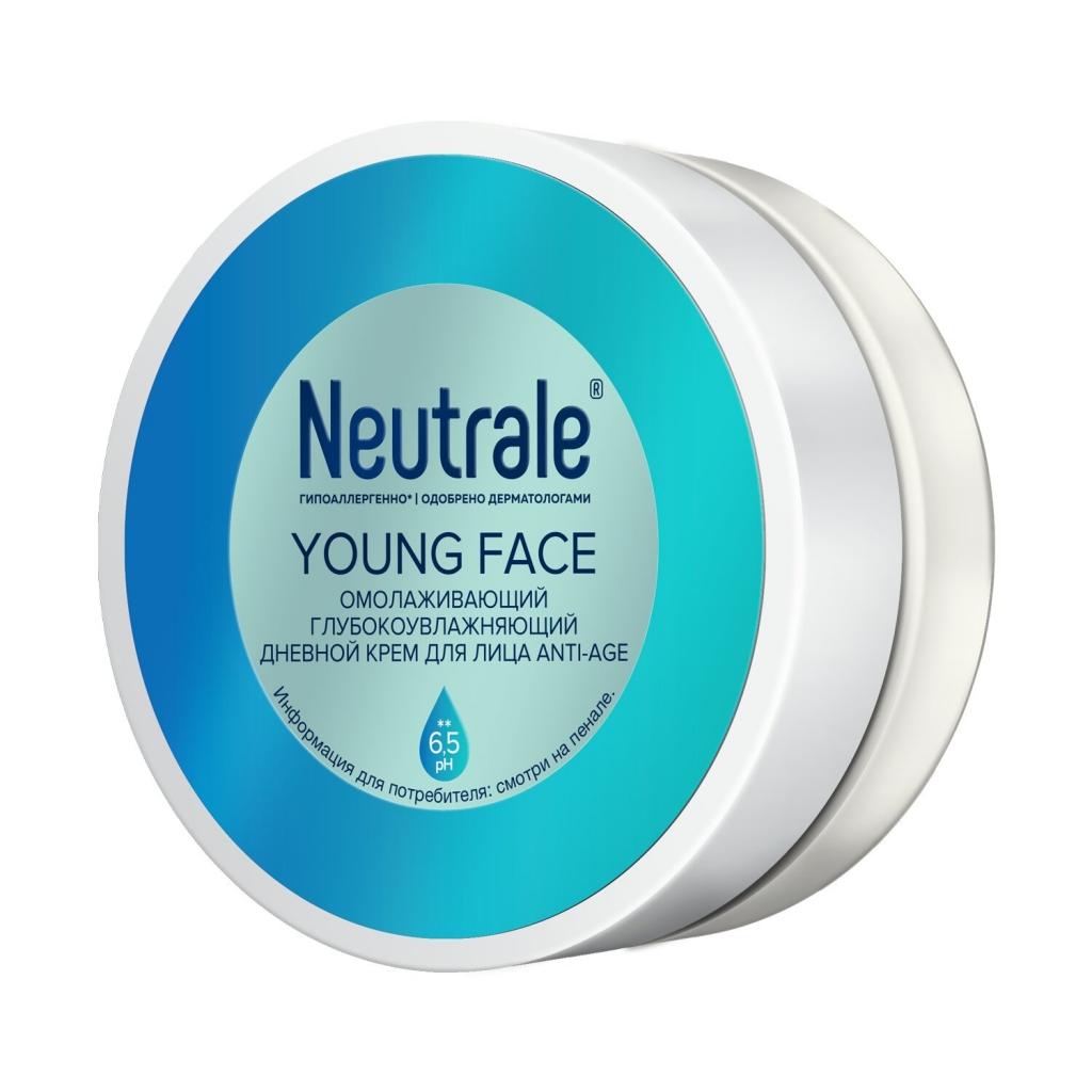 Купить Neutrale Омолаживающий глубоко увлажняющий дневной крем для лица Anti-Age, 50 мл (Neutrale, Для кожи лица, шеи, зоны декольте и рук)