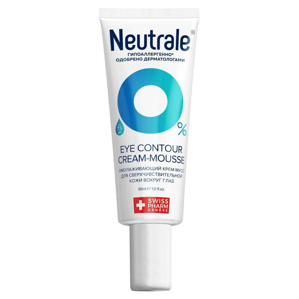 Купить Neutrale Омолаживающий крем-мусс для сверхчувствительной кожи вокруг глаз Anti-Age, 30 мл (Neutrale, Для кожи лица, шеи, зоны декольте и рук)