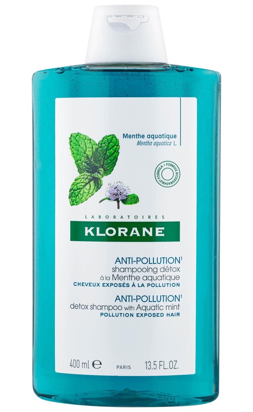 Купить Klorane Шампунь -детокс с органическим экстрактом водной мяты, 200 мл (Klorane, Mint)