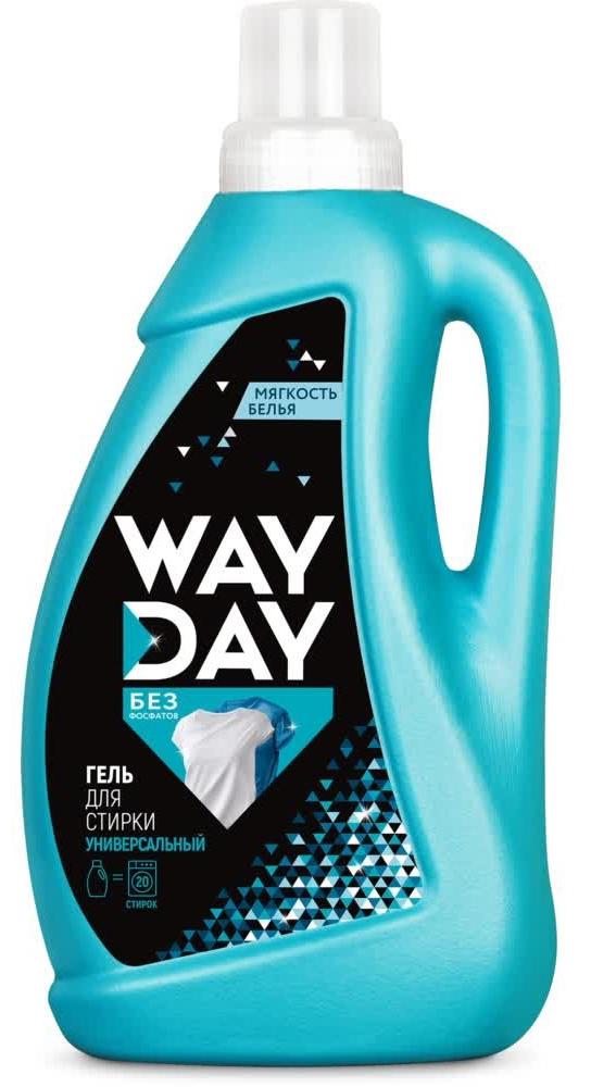 Купить WayDay Жидкое универсальное средство для стирки «Эффект чистоты», 1 л (WayDay, Средства для стирки)