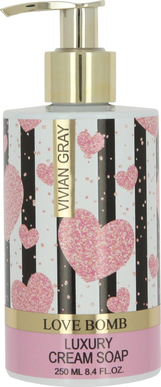 Vivian Gray & Vivanel Крем-мыло Любовная бомба, 250 мл (Vivian Gray & Vivanel, Love Bomb) кеды на танкетке vivian royal vivian royal vi809awesaj6