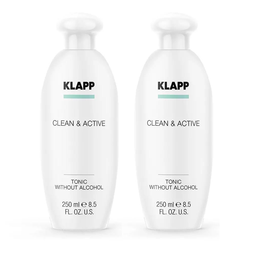 Купить Klapp Тоник без спирта, 250 мл х 2шт (Klapp, Clean & active)