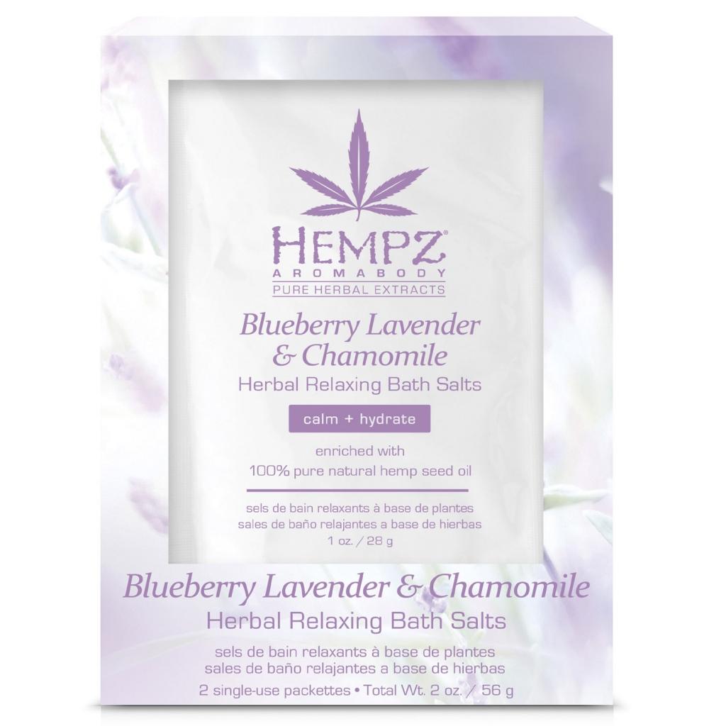 Купить Hempz Расслабляющая соль для ванны, 2 х 28 г (Hempz, Лаванда, ромашка и дикие ягоды)
