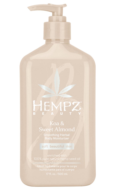 Купить Hempz Увлажняющее молочко для тела, 500 мл (Hempz, Коа и сладкий миндаль)