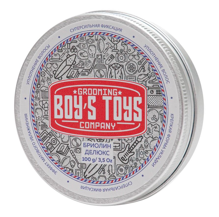 Купить Boys Toys Бриолин для укладки волос сверх сильной фиксации со средним уровнем блеска Deluxe Oil Based Clay, 100 мл (Boys Toys, Стайлинг)
